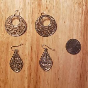 Jewelry - Sterling Silver drop earrings